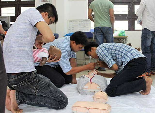 CPR Training for new teachers