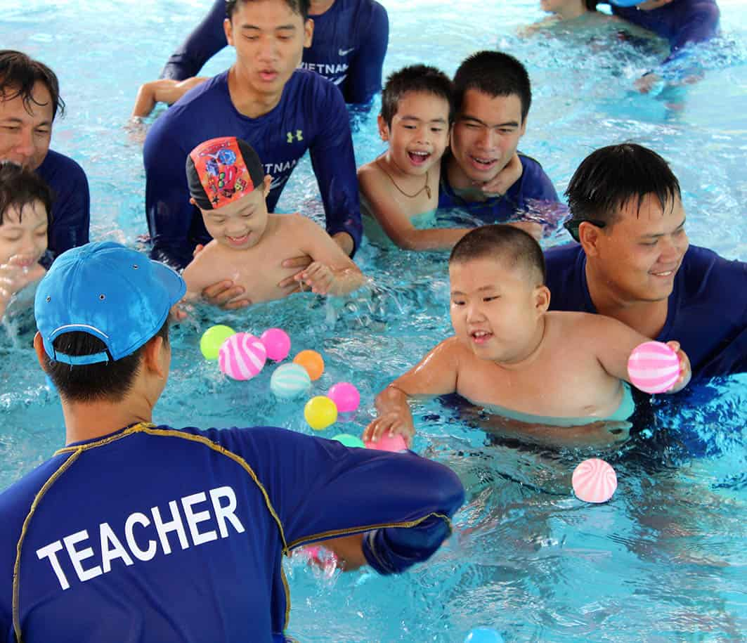 Children from Kianh Foundation