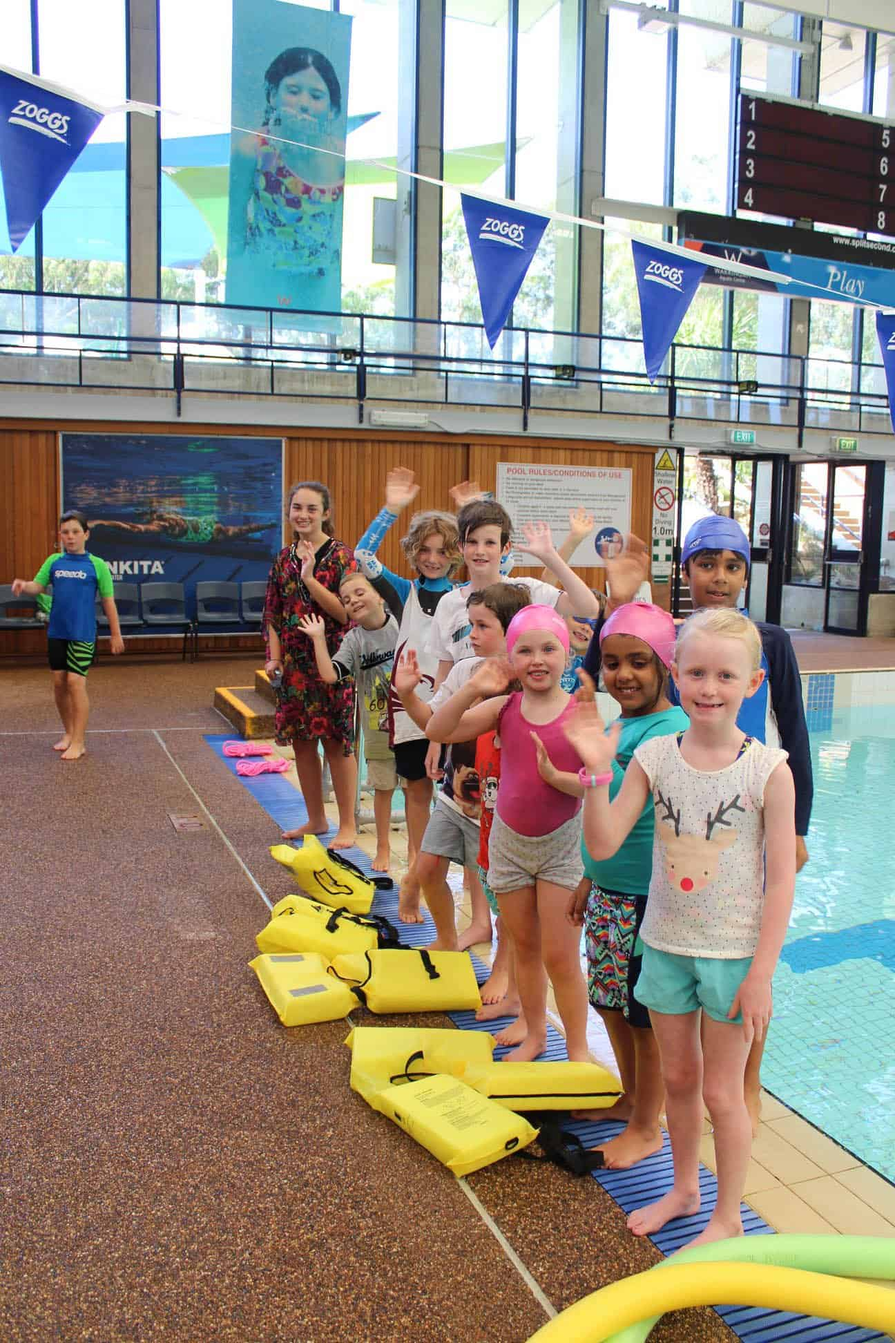 Swim and Survive Summer Camp
