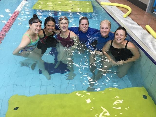 Volunteer Teachers Tibetan Swim Program